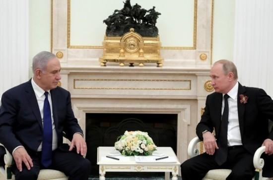 Путин в среду обсудит с Нетаньяху палестино-израильское урегулирование и Сирию