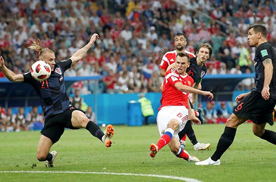 Более 14 млн россиян посмотрели матч Россия — Хорватия