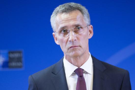 Столтенберг: вопрос «Северного потока — 2» не дело НАТО