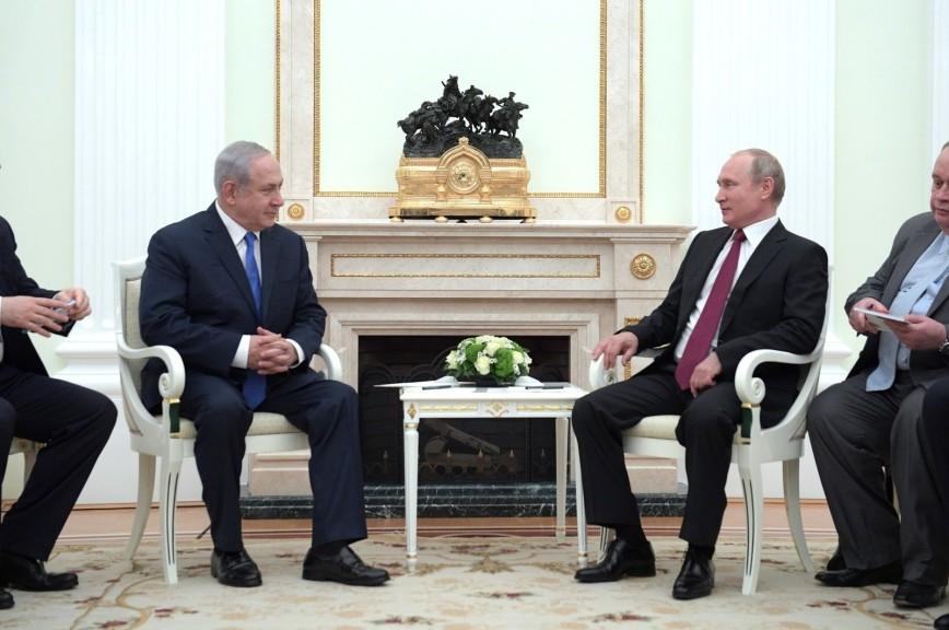 Нетаньяху рассказал Путину об «успешно сбитом» у границ Сирии беспилотнике