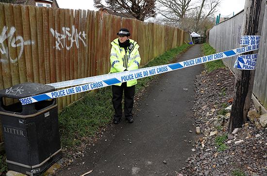 Полицейским удалось поговорить с мужчиной, пострадавшим от отравления в Эймсбери