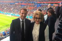 Валентина Матвиенко: Макрон оказался очень азартным болельщиком