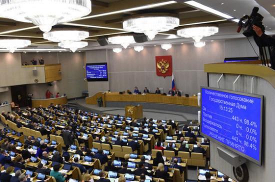 Государственная дума приняла закон орегистрации филиалов иностранных НКО