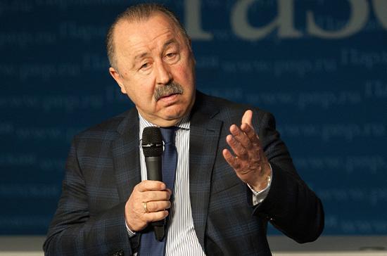 Газзаев: Россия имеет полное право учредить национальный День футбола