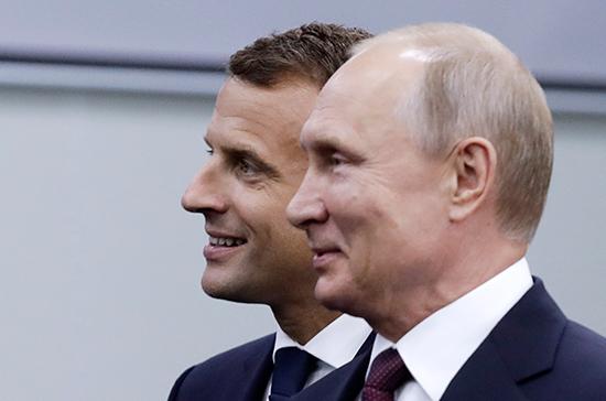 Макрон подтвердил, что хочет встретиться с Путиным в Москве