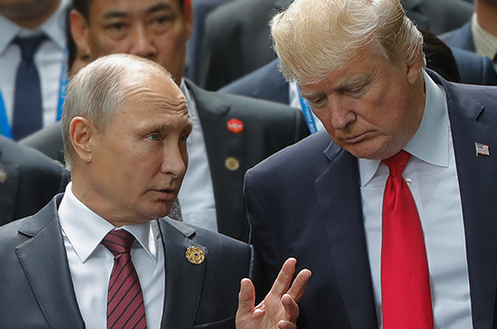 О чём могут поговорить Путин и Трамп