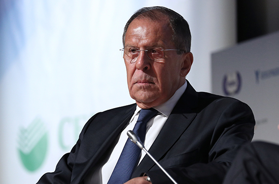 Лавров назвал заявления США по «Северному потоку — 2» нечестной конкуренцией