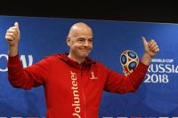 Президент ФИФА: «Россия — это круто!»