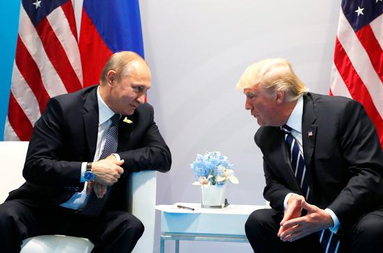 СМИ: Трамп запрашивал личную встречу с Путиным, чтобы избежать утечек важной информации