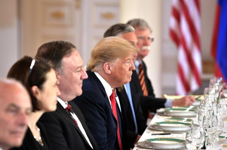 Трамп назвал свою встречу с Путиным интересной