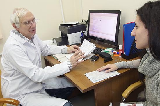 Тарасенко: законопроект о диспансеризации позволит снизить риски заболеваемости