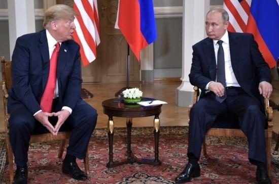 Посол РФ: Путин и Трамп не обсуждали антироссийские санкции в Хельсинки