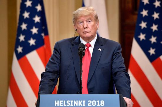 На Трампа в США обрушились с критикой из-за саммита в Хельсинки