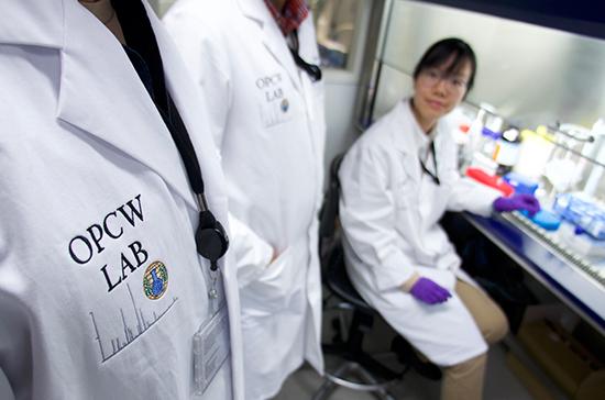 Специалисты ОЗХО собрали образцы отравляющего вещества вЭймсбери