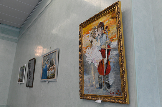 В Госдуме открыли выставку художника Владимира Бородина