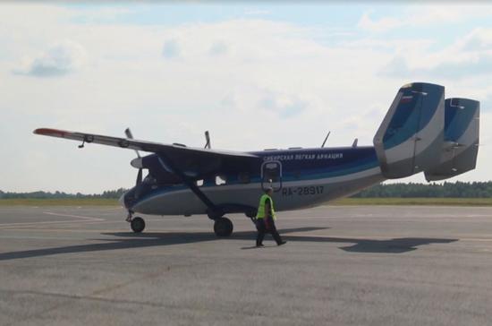 В Томской области появилось регулярное авиасообщение с отдалёнными посёлками