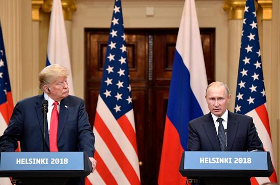 Трамп с нетерпением ждёт новой встречи с Путиным