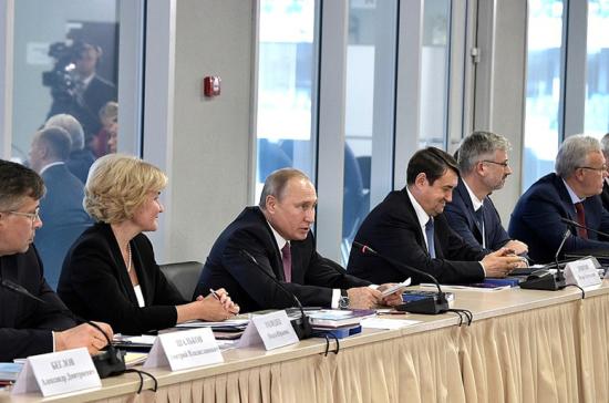 Путин: господдержка объектов ЧМ-2018 продлится пять лет