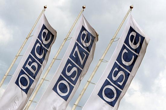 Россия напомнила о важности принятия устава ОБСЕ