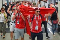 Болельщики ЧМ-2018 чаще всего добирались до стадионов на общественном транспорте