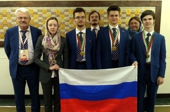 Российские школьники выиграли четыре медали на Международной олимпиаде по биологии