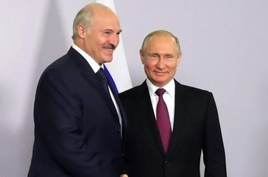 Путин пригласил Лукашенко посетить Россию