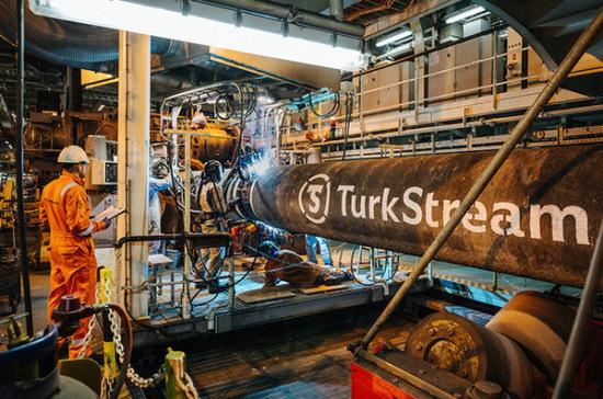 В «Газпроме» рассказали о ходе строительства «Турецкого потока»