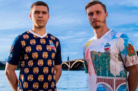 Неизвестный шотландец заказал 150 футболок ФК «Енисей»