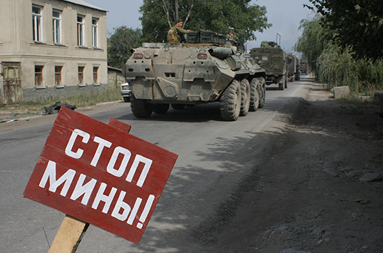 Шаманов рассказал о своей секретной миссии в августе 2008 года