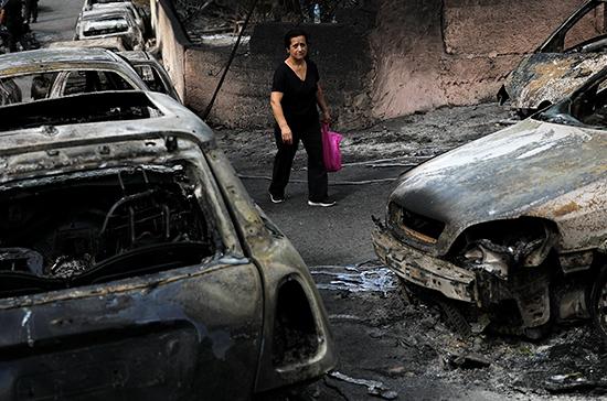 Очевидец рассказал об обстановке в Афинах, находящихся в кольце лесных пожаров