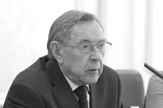 Умер советник Президента России Вениамин Яковлев