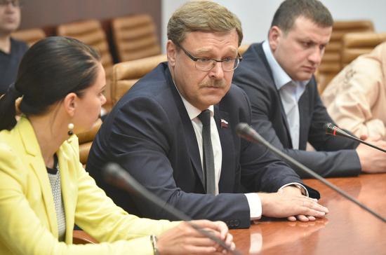 Косачев рассказал, как Россия ответит на вступление Грузии в НАТО