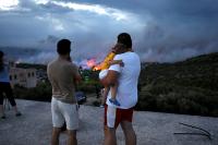 Греция скорбит по жертвам лесных пожаров