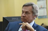 Пушков объяснил странное поведение представителя Украины на переговорах по Донбассу в Минске
