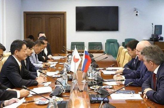 Сенаторы обсудили межпарламентское сотрудничество с коллегой из Японии