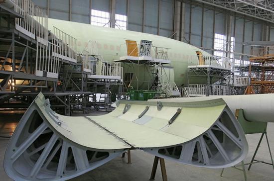 Руководство выделило 1,32 млрд руб. на модификацию производства самолетов Ил-96