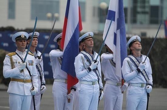 В Петербурге начался Главный военно-морской парад
