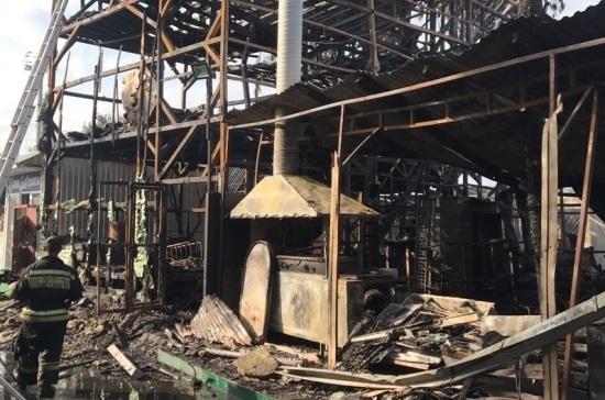 Гибель восьми человек при пожаре расследуют в Сочи
