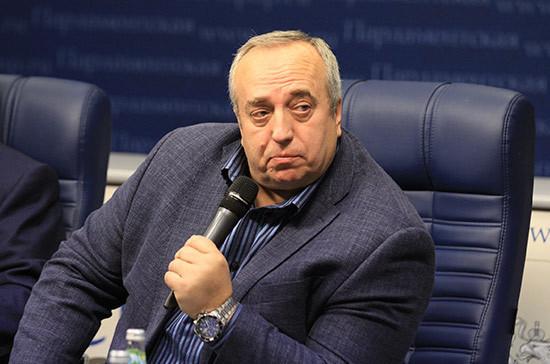 Клинцевич назвал последней стадией маразма идею латвийского депутата «раздробить» Россию