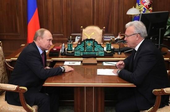 Путин предложил обсудить создание холдинга по производству цветных металлов в Красноярске