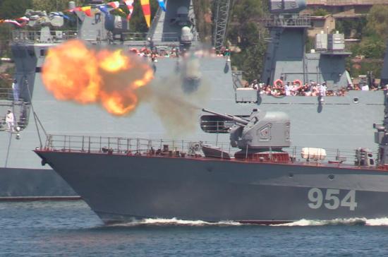 Юные моряки со всей России собрались в Севастополе