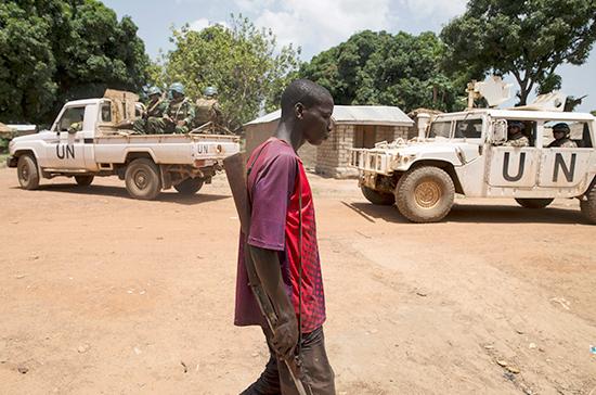 СМИ: тела убитых в ЦАР доставлены на базу миссии ООН