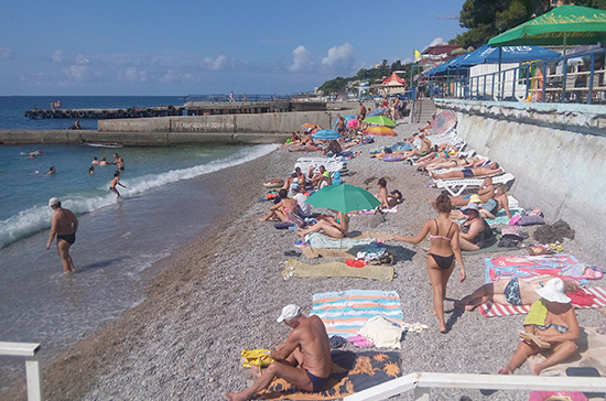 В Крыму на четверть выросли налоговые поступления от туризма
