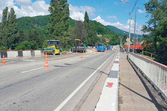 Строительство трассы Джубга — Сочи вписывается в дорожную часть майского указа, считает эксперт