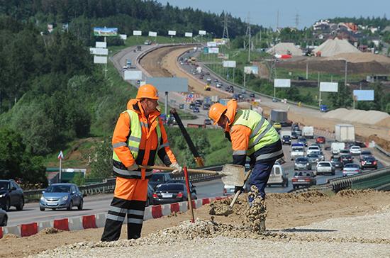 Первая очередь крымской трассы «Таврида» готова на 65%