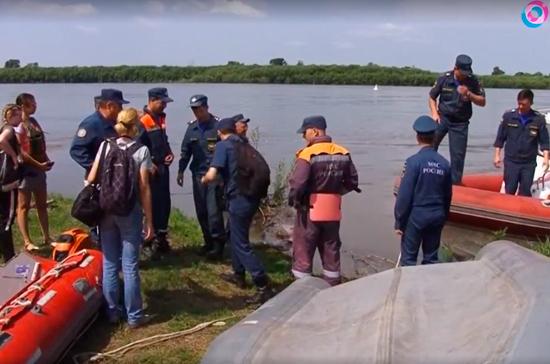 В Хабаровске вода затопила садоводческое товарищество