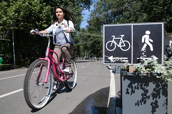 Велосипедистов отправят в зону
