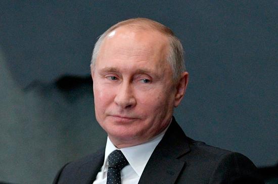 Путин: сети железных дорог обеспечивают надежную транспортную коммуникацию между регионами