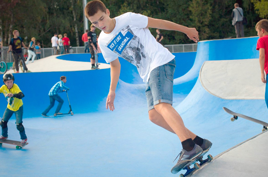 В Королёве и Ивантеевке появятся первые подмосковные скейт-парки