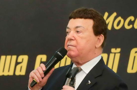 Лещенко рассказал о состоянии Кобзона